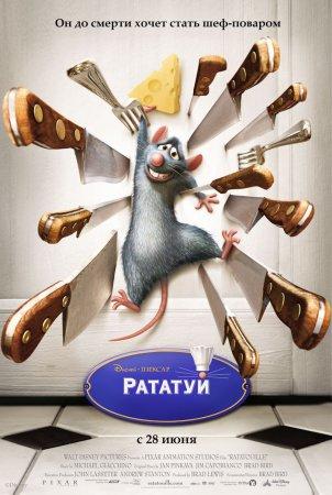 Смотреть онлайн Рататуй / Ratatouille (2007)