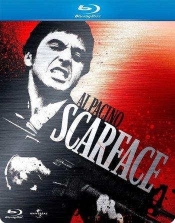 Смотреть онлайн Лицо со шрамом / Scarface (1983)