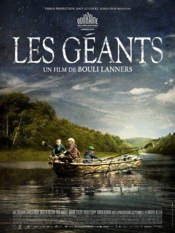 Смотреть онлайн Гиганты / Les géants (2011)