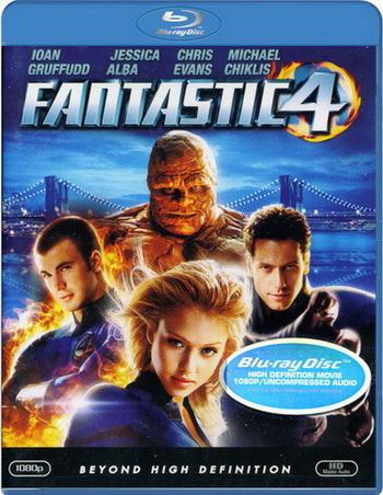 Смотреть онлайн Фантастическая четверка (2005)