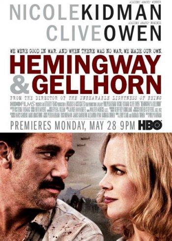 Смотреть онлайн Хемингуэй и Геллхорн (2012)
