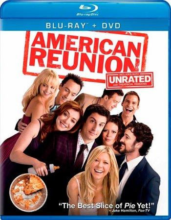 Смотреть онлайн Американский пирог: Все в сборе / American Reunion (2012) HDRip
