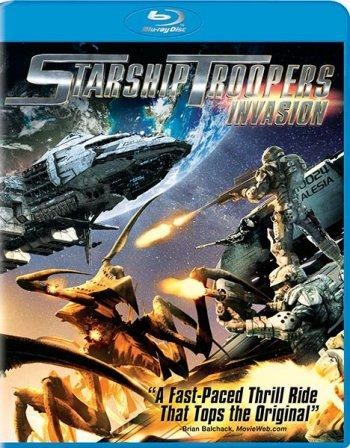 Смотреть онлайн Звездный десант: Вторжение / Starship Troopers: Invasion (2012)