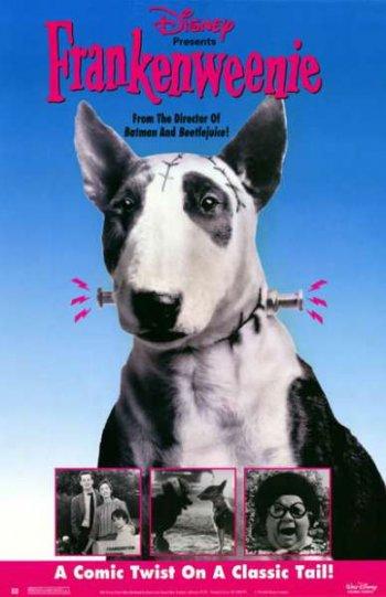 Смотреть онлайн Франкенвини / Frankenweenie (1984)